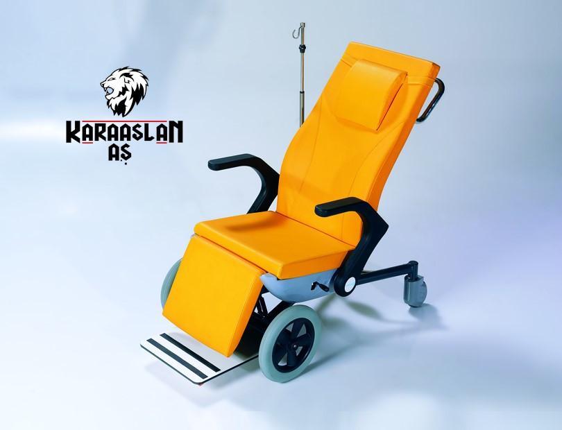 Hasta Taşıma Sandalyesi Katlanabilir